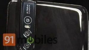 La imagen en vivo filtrada de Vivo V15 Pro muestra cámaras traseras triples y diseño degradado