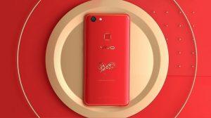 Vivo V7 + Infinite Red Limited Edition lanzado en India