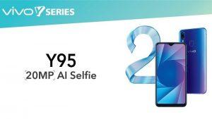 Vivo Y95 lanzado en India con pantalla con muescas de 6.22 pulgadas, cámara selfie de 20 MP y batería de 4030 mAh