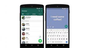 Ahora puede agregar color a su estado basado en texto en WhatsApp
