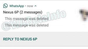 WhatsApp comienza a probar la función 'Eliminar para todos' que le permitiría anular el envío de mensajes
