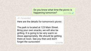 WhatsApp pronto limitará el reenvío de mensajes a 5 chats a la vez en India [Updated]
