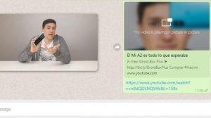 WhatsApp Web ahora admite el modo Picture-in-Picture para Facebook, Instagram y YouTube