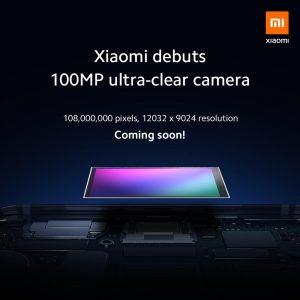 Xiaomi se burla de una cámara de 100 MP para su próximo teléfono inteligente insignia