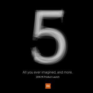 Lanzamiento de Xiaomi Mi 5 24 de febrero confirmado oficialmente