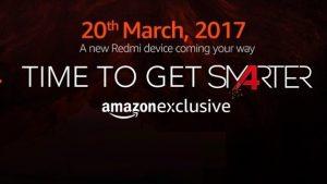 El lanzamiento del teléfono inteligente Xiaomi en India el 20 de marzo estará disponible exclusivamente en Amazon India