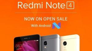 Xiaomi Redmi Note 4 sale a la venta en India