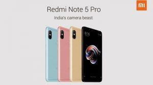 Las especificaciones de Xiaomi Redmi Note 5 y Redmi Note 5 Pro aparecen en línea antes del lanzamiento de mañana en India