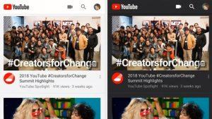 """YouTube para iOS obtiene el modo oscuro, Android lo tendrá """"pronto"""""""
